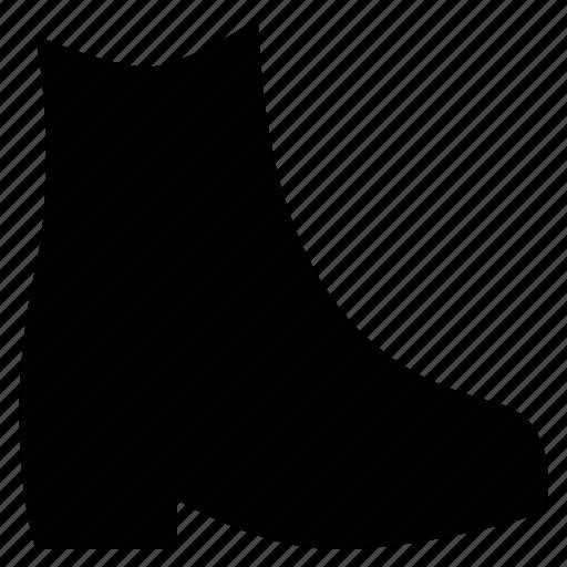 boot, chelsea boot, footgear, footwear, shoe icon