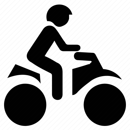 bike rider, dirt bike, rider on bike, travel, traveling icon