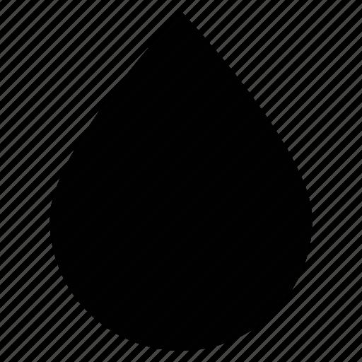blood, drop, rain, tea, water icon