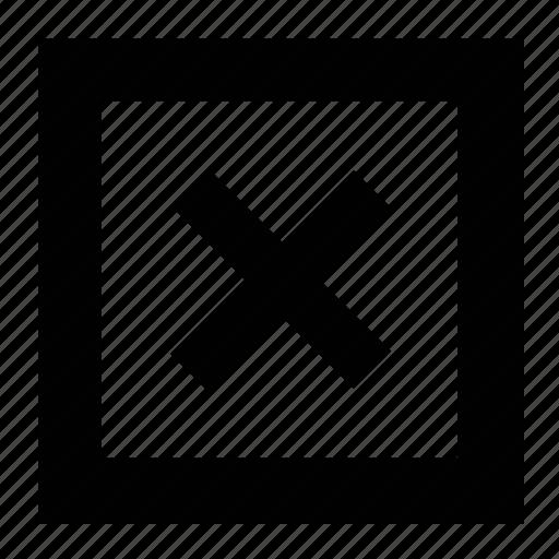 cross mark, delete, increase, multiply, remove, stop icon