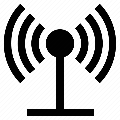 internet connectivity, wifi, wireless internet, wireless signals icon