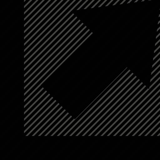 chart, development, diagram, graph, growth, progress icon