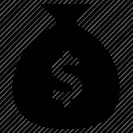 Dollar, investment, money, money bag, saving, wealth icon - Download on Iconfinder