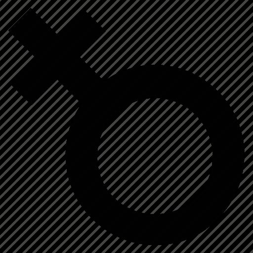 female, gender symbol, medical symbol, venus symbol, woman icon