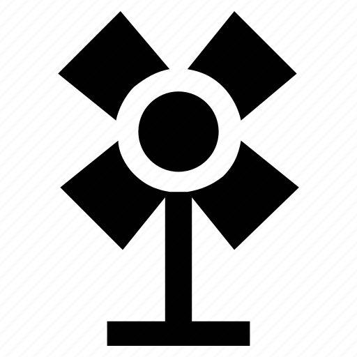 Air, cool, fan, pedestal fan, summer, wind icon - Download on Iconfinder