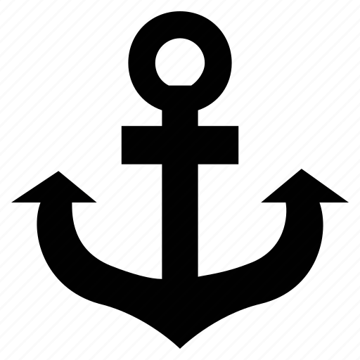 anchor, boat, boat anchor, navigational, sailor anchor, sea icon