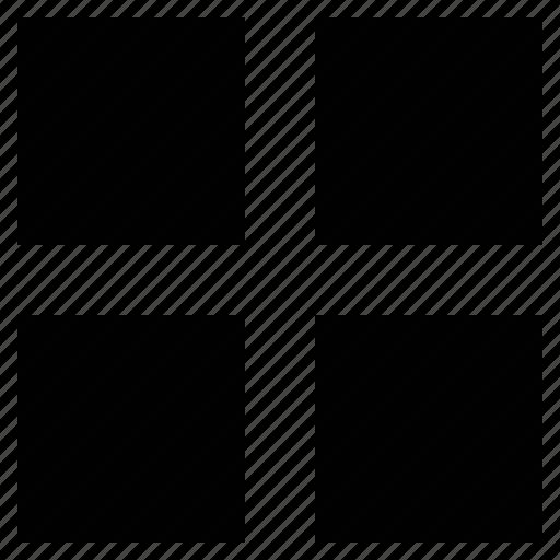 four grid, logo, operating system, pattern, windows icon