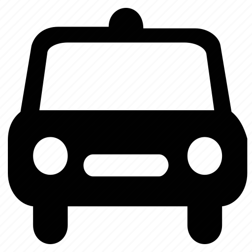 automobile, car, emergency, police car, transport, travelling icon