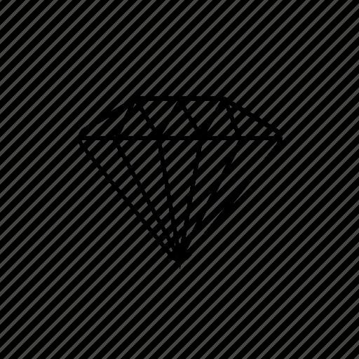 access, cristal, diamond, luxury icon