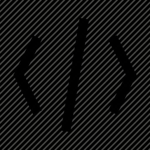 code, minicons icon