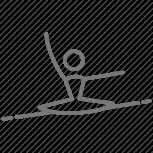 ballerina, ballet, dance, jump, leap, performance, tutu icon
