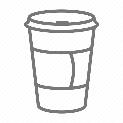 cafe, coffee, cup, sleeve, takout, tea, to go icon