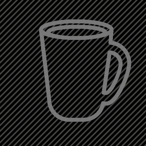 coffee, cup, drink, handle, mug icon