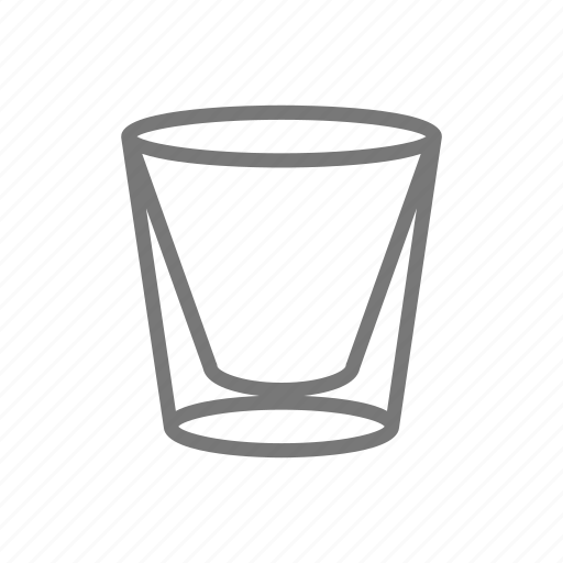 beverage, cup, double, glass, tumbler icon