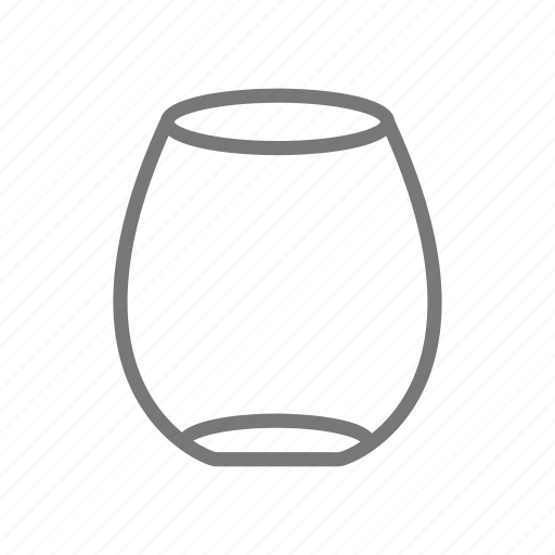 alcohol, beverage, cocktail, cup, drink, stemless, wine icon