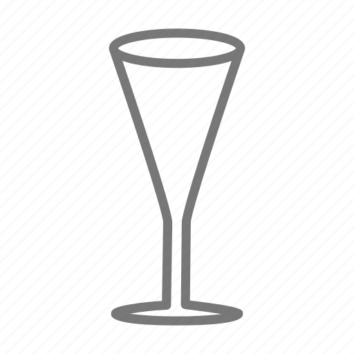 alcohol, champagne, cup, drink, flute, glass, wine icon