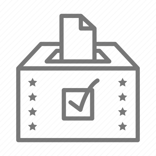 Ballot, democracy, poll, vote icon - Download on Iconfinder