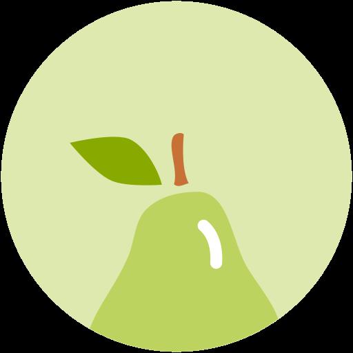 food, health, nutrition, pear icon