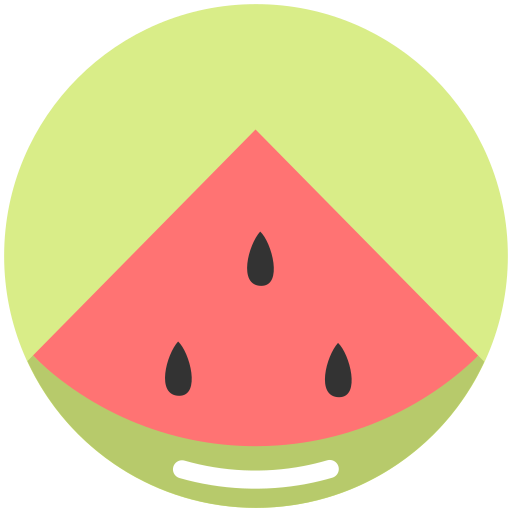 food, nutrition, summer, watermelon icon