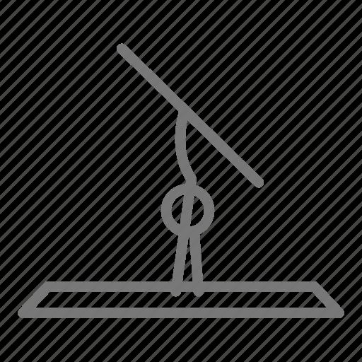 balance, compete, floor, gymnast, gymnastics, handstand, routine icon