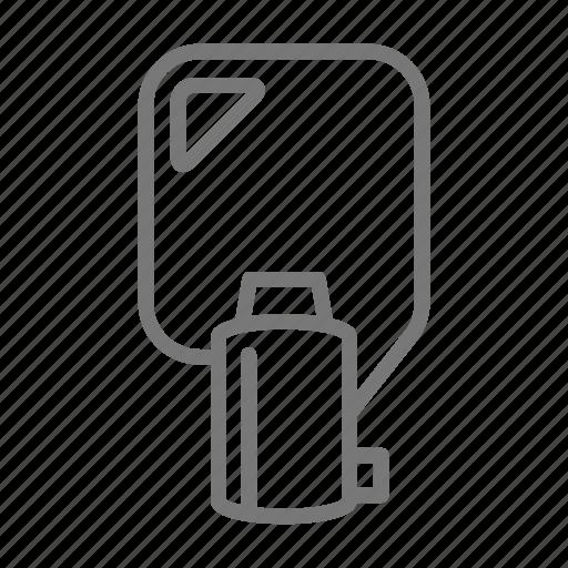 circle, key, lock, open, protect, security, tubular icon