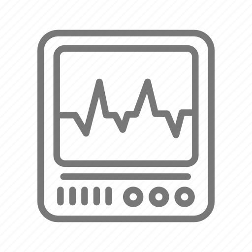 data, heartbeat, medical, monitor, vitals icon