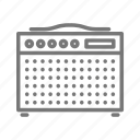 amp, band, concert, music, rock, speaker, tour icon