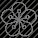 flower, hawaiian, lei, polynesian icon