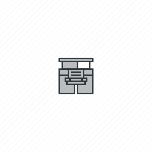 car, mining, truck, truck front icon