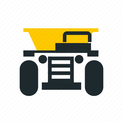 car, car front, mining, truck, truck front icon
