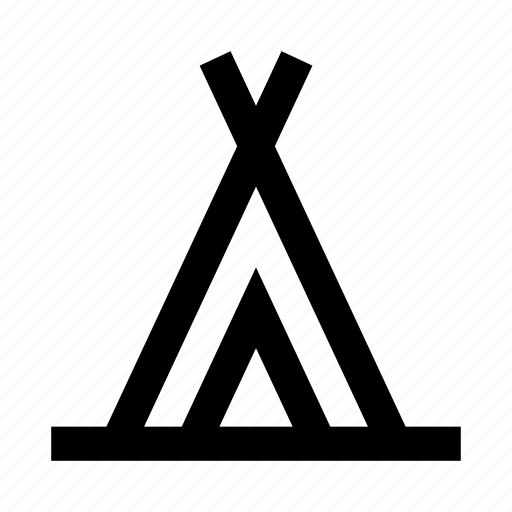 building, construction, estate, house, real, wigwam icon