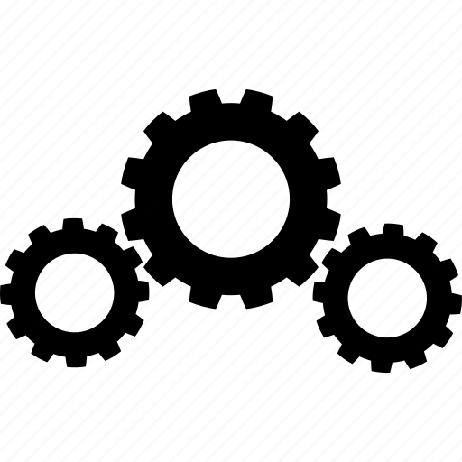 gears, setting, support, work icon
