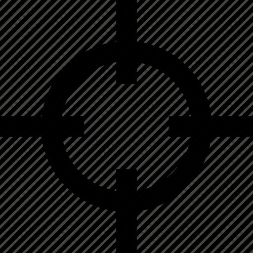 crosshair, headhunter, marketing, objective, seo, target icon