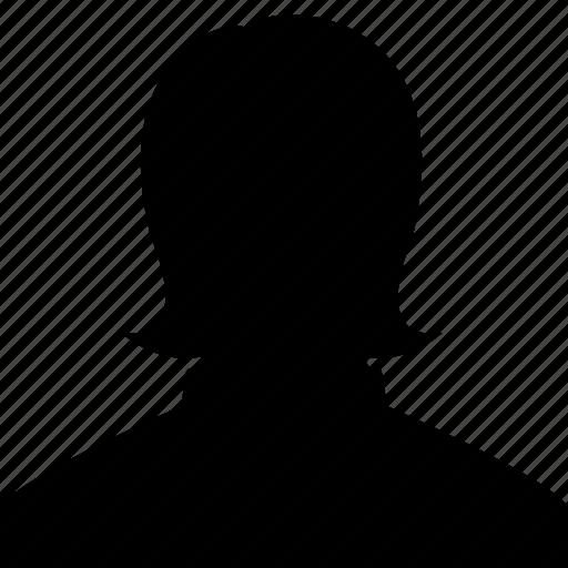 account, avatar, head, human, people, profile, woman icon