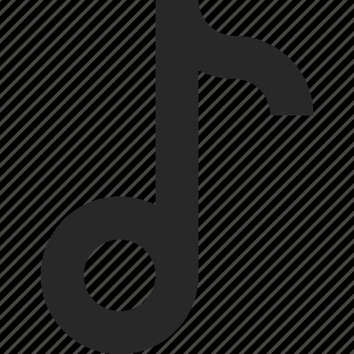 audio, entertainment, media, multimedia, music, notes, song icon