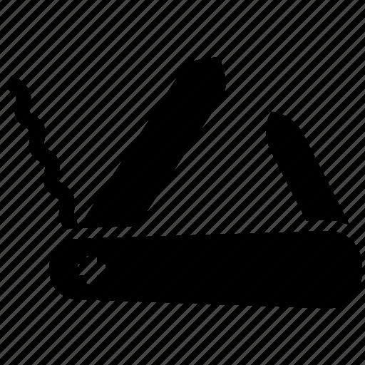 army knife, camping, swiss knife, swiss knife army icon