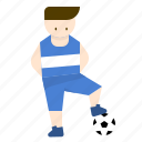 coach, football, game, kids, player, sport icon