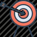 accurate, achievement, archery, aspirations, confidence, dartboard, target icon