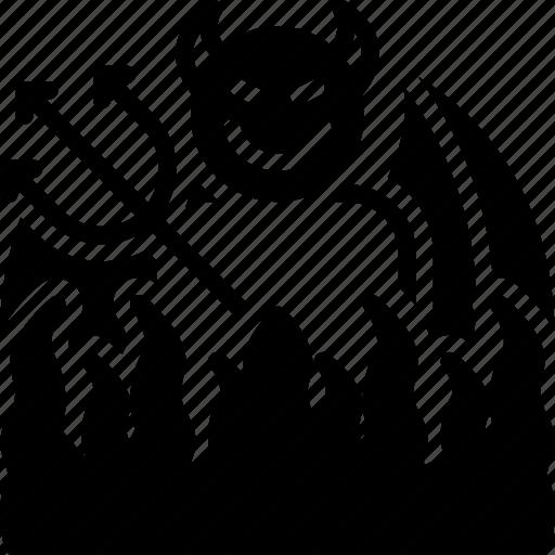 Abaddon, bad, devil, gehenna, halloween, hell, inferno icon - Download on Iconfinder