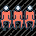 coordinate, person, arrange, sitting, adjust, arrangement icon