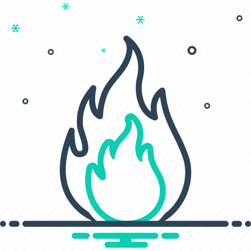 Danger, explosion, fiery, fire, flame, hot, warning icon - Download on Iconfinder