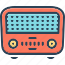 former, first, sooner, primarily, radio, electrical, retro