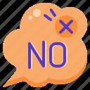 no, frame, text, bubble, notebooks, decoration, box