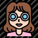 woman, fashionista, avatar, summer, sun, glasses, female