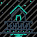 construction, balcony, house, veranda, deck, stoop, porch icon