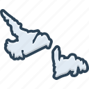 newfoundland, area, border, map, country, continent, borderline