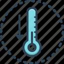 fever, temperature, fahrenheit, celsius, indicator, thermometer, measurement