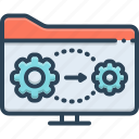 active, active directory, authentication, directory, effectual, process icon