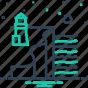 cove, beacon, landmark, light, ocean, tourism, tower