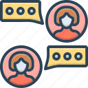 counsel, advice, consulting, consultant, opinion, rede icon